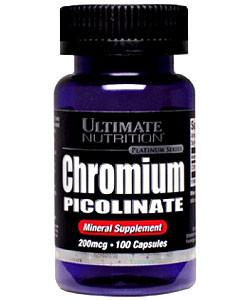 UltN Chromium Picolinate - 100 кап
