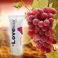 Съедобная смазка со вкусом Винограда для орального секса на водной основе, оральная смазка лубрикант