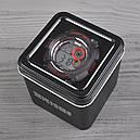 Часы Skmei Мод.1222 (подсветка: 7 цветов), черный-красный, в металлическом боксе, фото 7