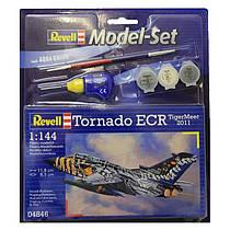 Model Set Многоцелевой боевой самолет Tornado ECR Tigermeet 2011 1:144 10+