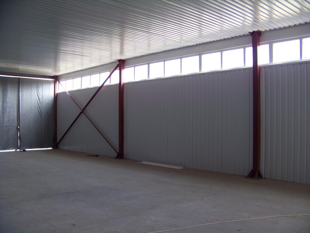 Будівництво виробничого приміщення 18*36*4.