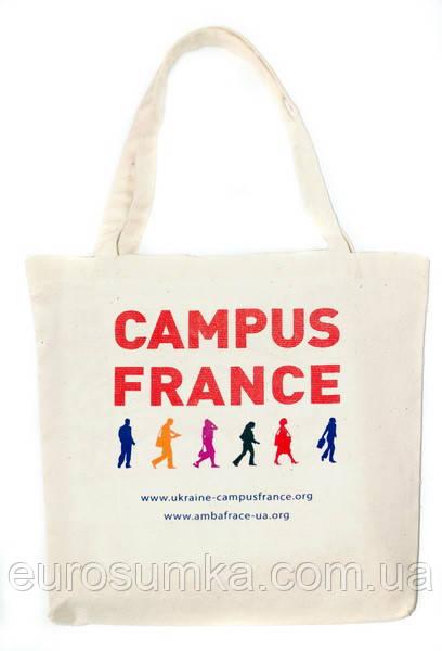 Тканинна промо-сумка з вашим логотипом від 100 шт.