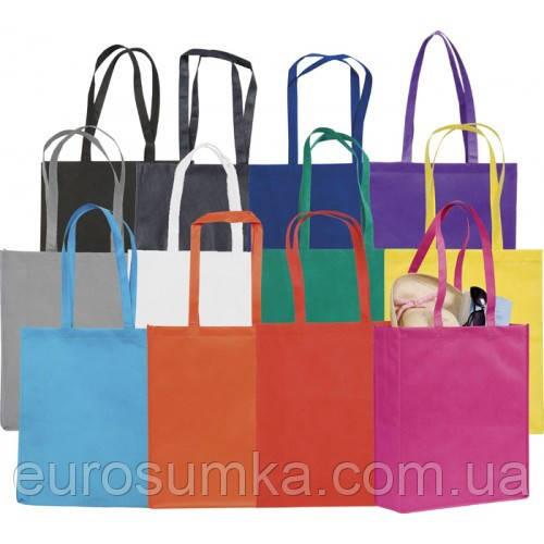 Промо-сумка из цветного хлопка с вашим лого