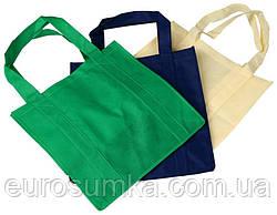 Еко сумка з спанбонду c логотипом 40*35 від 300 шт.