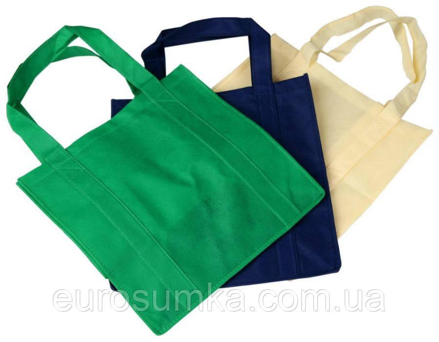 33fd74661c4f Эко сумка из спанбонда c логотипом 40*35 от 300 шт., цена 29 грн ...