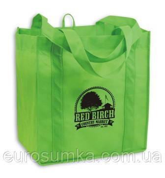 Эко-сумка из спанбонда с логотипом от 300 шт.