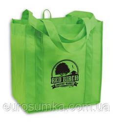 Еко-сумка з спанбонду з логотипом від 300 шт.