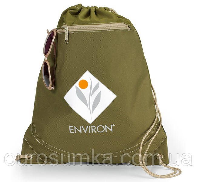 Рюкзак під нанесення логотипу з поліестеру від 100 шт.