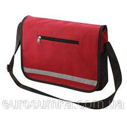 Промо сумка через плече з логотипом від 50 шт.