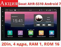 Универсальная магнитола 2 DIN Swat AHR-5510 Android 7