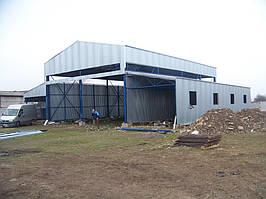 Будівництво СТО для вантажних авто. -1