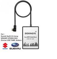 DOXINGYE USB SD AUX эмулятор для автомагнитолы Suzuki Swift VI Jimny  vitara SX4, clarion vxz 768R, Subaru