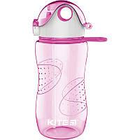 Пляшечка для води, 560 мл, рожева  K18-402-02