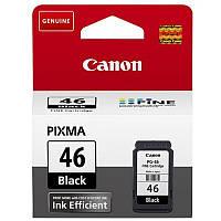 ☛Картридж CANON PG-46 Black совместим с принтерами Canon PIXMA E404 E464 E484