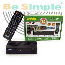 Т2 тюнер Operasky OP-307 DVB-T2 TV тюнер