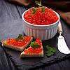 Красная икра. Красная икра — полезный и вкусный деликатес
