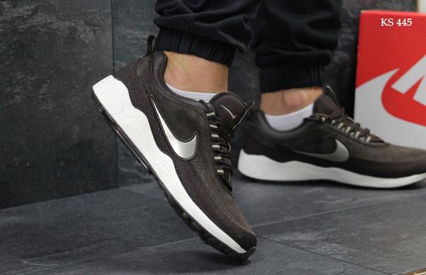 Кроссовки Nike Wave (коричневые)