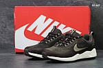 Кроссовки Nike Wave (коричневые), фото 3