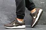 Кроссовки Nike Wave (коричневые), фото 2