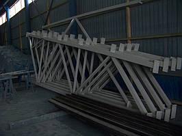 Виготовлення металоконструкцій для будівництва приміщень. -1