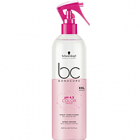 Спрей-кондиціонер для фарбованого волосся BC pH 4.5 Color Freeze Spray Conditioner Schwarzkopf , 400мл