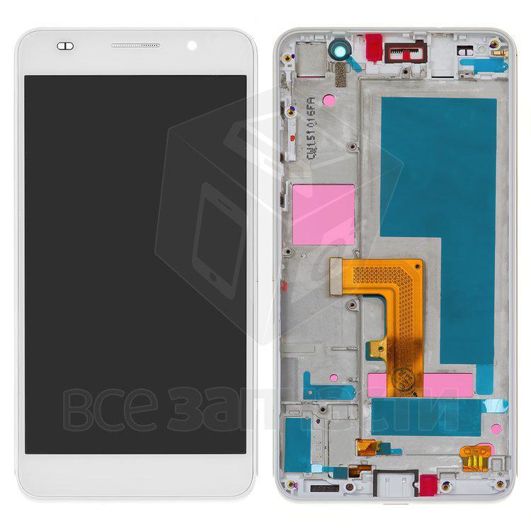 Дисплейный модуль для мобильного телефона Huawei Honor 6 H60-L02, белы