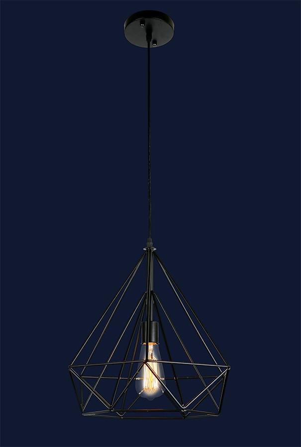 Подвесной светильник на одну лампу в скандинавском стиле