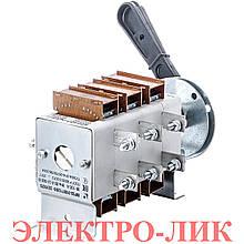 Рубильник перекидной ВР 32-31В 71250-32 100А Коренево