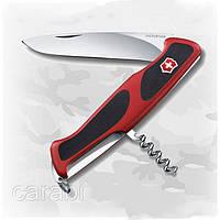 Нож Victorinox RangerGrip 52 0.9523.C красно-черный, 5 функций
