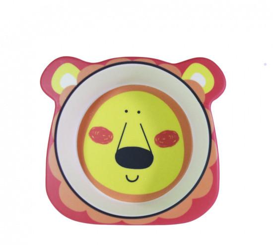 """Глубокая тарелка """"Львенок"""" 14.5х12.5х4см из бамбукового волокна Fissman"""