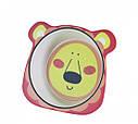 """Глубокая тарелка """"Львенок"""" 14.5х12.5х4см из бамбукового волокна Fissman , фото 2"""