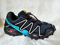 Мужские кроссовки Salomon  Speedcross , синие