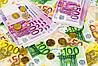 Римские шторы с фотопечатью Деньги