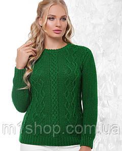 Женскийвязаный свитер больших размеров (151mrs)