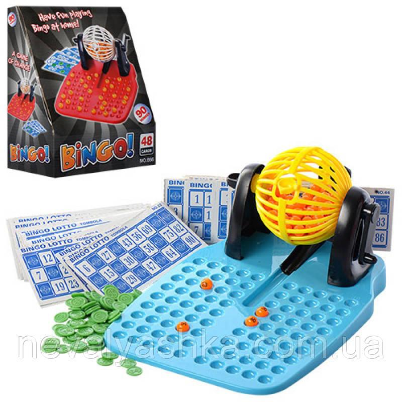 Настольная Игра Bingo Бинго карточки (Лото), 866, 009330