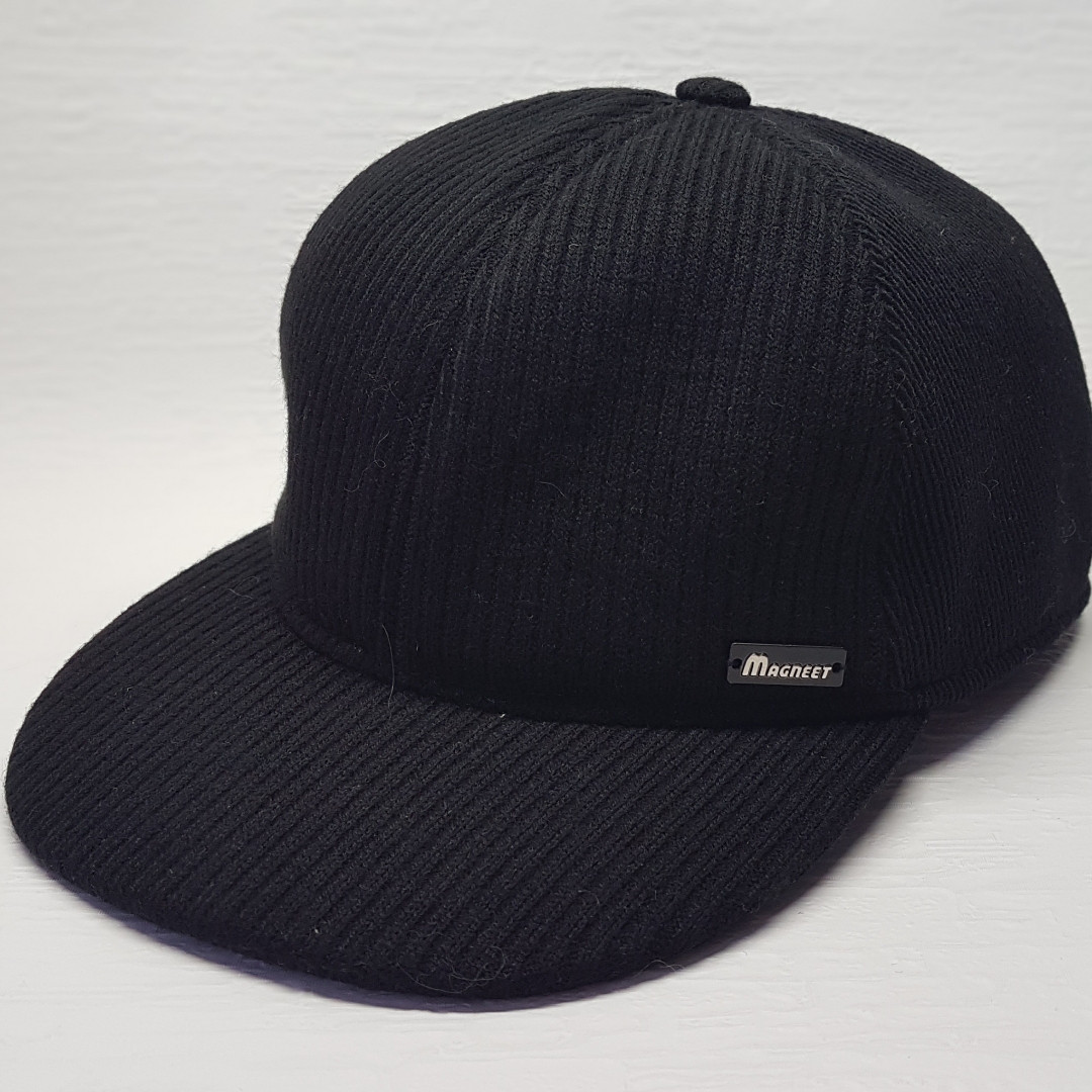Бейсболка мужская Magneet черная  (BBK-MF-TK-001/TR-1)