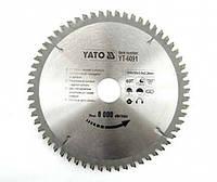 Диск пильный по алюминию 200х30х3х2.2мм YATO