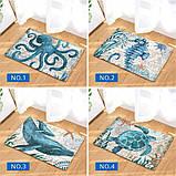 Абсорбирующий коврик «Синий кит» 40×60 см, фото 2