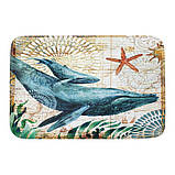 Абсорбирующий коврик «Синий кит» 40×60 см, фото 4