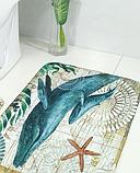 Абсорбирующий коврик «Синий кит» 40×60 см, фото 8