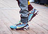 """Кроссовки мужские UNDERCOVER x Nike Upcoming React Element 87 """"Разноцветные"""" найк андерковер"""