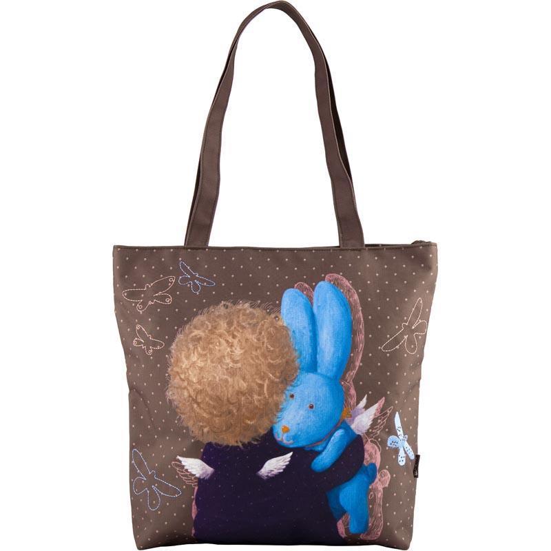 Женская сумка шоппер Kite GAPCHINSKA Кролик (сумки жіноча, Гапчинська,