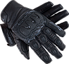 SECA KAZUKI  Black Sz.S, Мотоперчатки кожаные