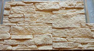 Гипсовая декоративная плитка Сланец песочная