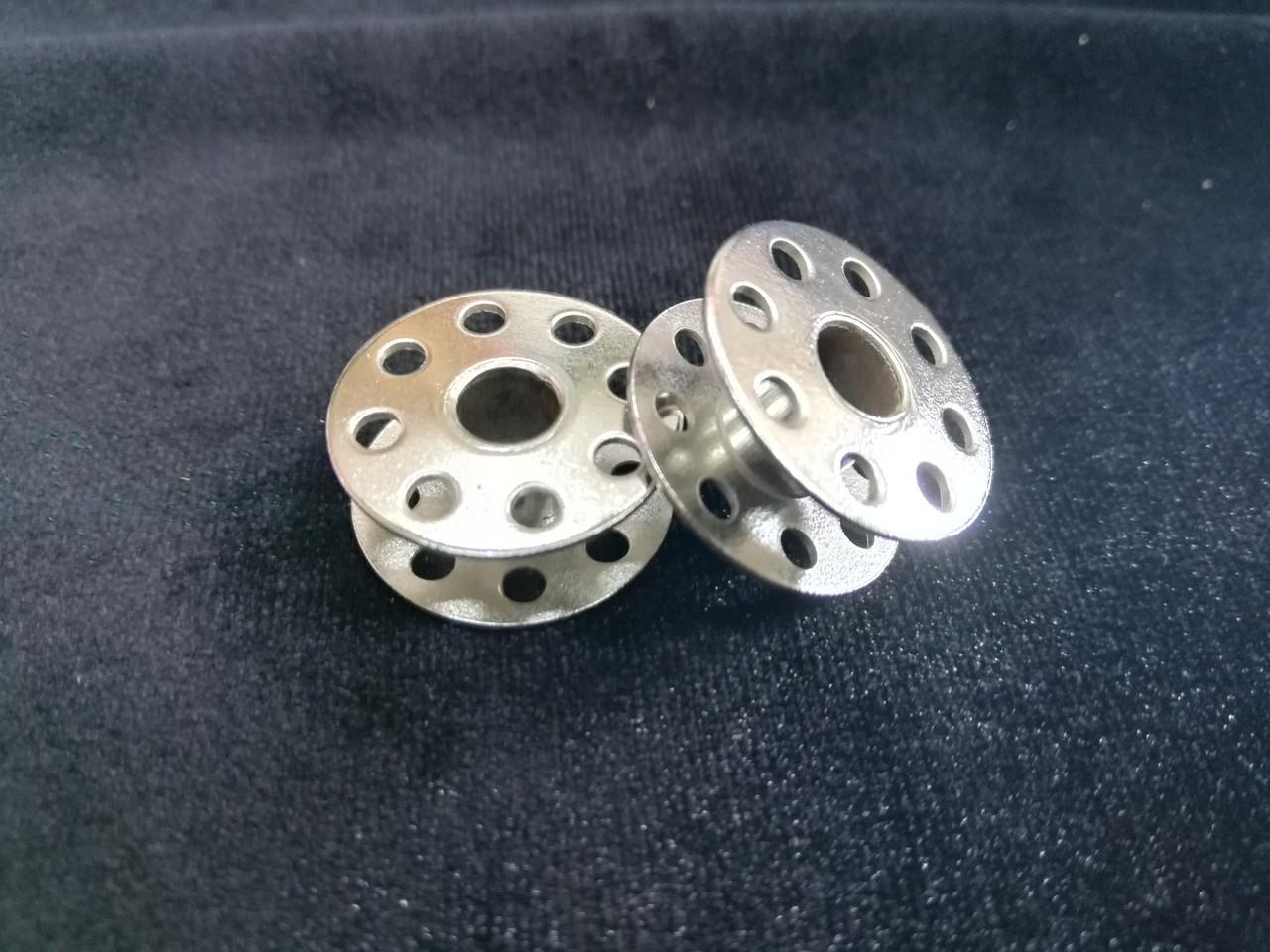 Шпулька металлическая для швейных машин 100шт  в уп