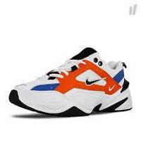 """Кроссовки мужские/женские Nike m2k Tekno White/Red """"Белые с красным"""" р. 36-45"""