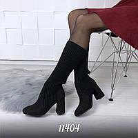 Жіночі чобітки на підборах, фото 1