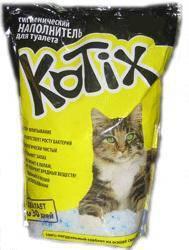 Наполнитель для кошачьего туалета  KOTIX   3,8 L