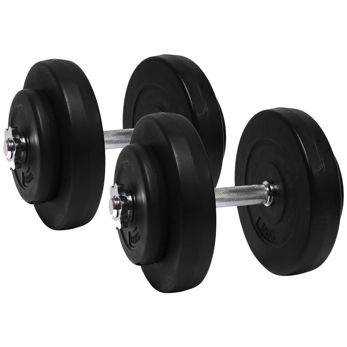 Гантели 2х10 кг (Металлический Гриф), фото 1