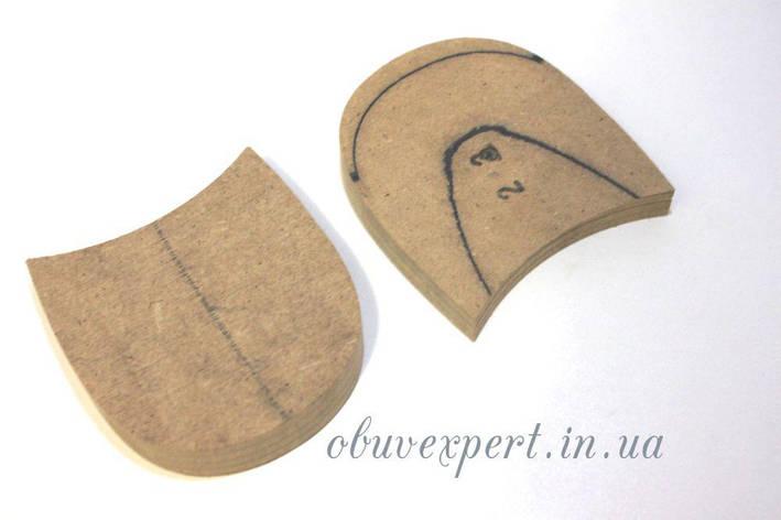 Каблуки дерев'яні (мазанітовие) без набійки, р.42-43, фото 2
